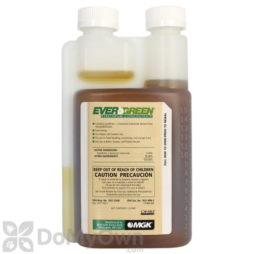 Evergreen Pyrethrum Concentrate Pyganic Pro 5 Pyrethrin