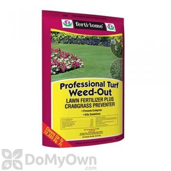 Ferti-Lome Pro-Turf Weed-Out Lawn Fertilizer Plus Crabgrass Preventer 25-0-4