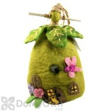 DZI Handmade Designs Fairy House Felt Bird House (DZI484019)