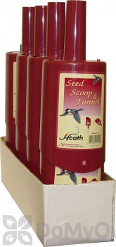 Heath Bird Seed Scoop and Funnel 4 in. (FS1P)