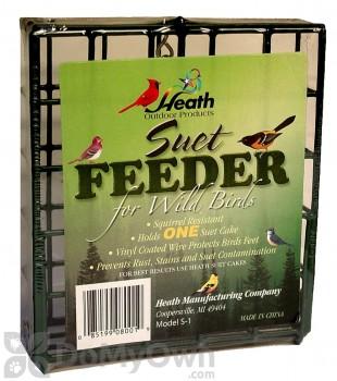 Heath Single Suet Basket Bird Feeder (S18)