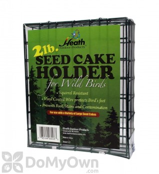 Heath Seed Cake Holder for Wild Birds 2 lb. (S3)