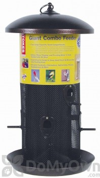 Hiatt Manufacturing Stokes Select Giant Combo Bird Feeder 8 qt. (38005)