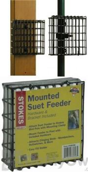 Hiatt Manufacturing Pole Mounted Suet Cake Bird Feeder (38058)