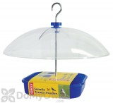 Hiatt Manufacturing Blue Covered Snacks N Treats Bird Feeder 1.2 lb. (38225)