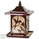 Homestead Jolly Pop Red Hummingbird Design Bird Feeder 5.5 lb. (4485)