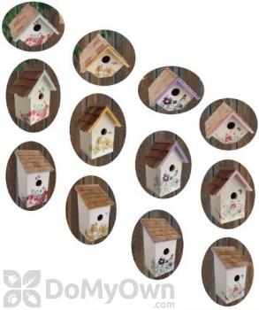 Home Bazaar Assorted Printed Bird House (HB907345A)