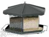 Homestead Bronze Triple Bin Party Bird Seed Feeder 11.5 lb. (3506)