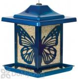 Homestead Electric Blue Monarch Bird Feeder 5.5 lb. (4462)