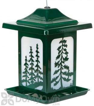 Homestead Jolly Pop Green Woodland Pines Bird Feeder 6 lb. (4638)