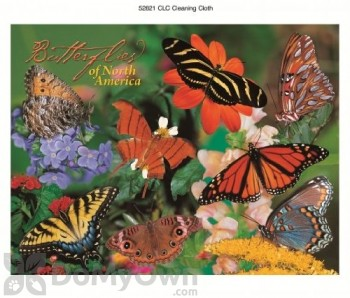 Impact Photographics Butterflies Print Cleaning Cloth (IMP52821CLC)