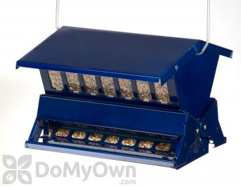 Kay Home Products Blue Absolute II Bird Feeder 11.5 in. (7537)