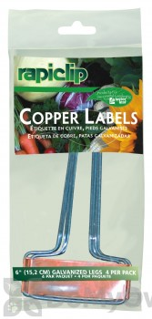 Luster Leaf Rapiclip Copper Plant Label 4 pack 6 in.