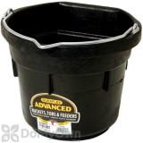 Little Giant Duraflex Flat Back Rubber Bucket