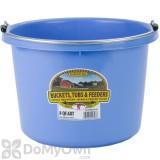 Little Giant Duraflex Round Plastic Bucket 8 qt.