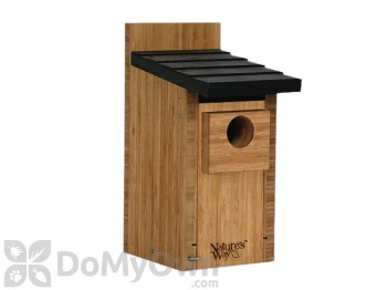 Natures Way Bamboo Bluebird Box Bird House (BWH3)