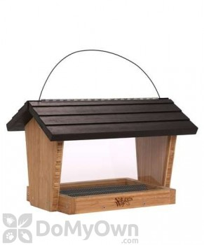 Natures Way Bamboo Hopper Bird Seed Feeder 6 qt (BWF18)