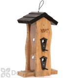 Natures Way Bamboo Vertical Wave Bird Feeder 2 qt (BWF5)