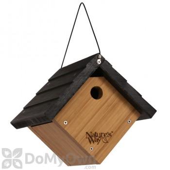 Natures Way Bamboo Wren Hanging Bird House (BWH1)