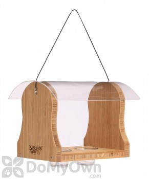 Natures Way Bamboo Oriole Bluebird Bird Feeder (BWF17)