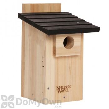 Natures Way Cedar Bluebird with Viewing Window Bird House (CWH4)