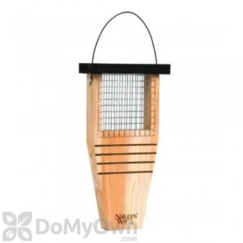 Natures Way Cedar Suet Tail Prop Bird Feeder (CWF1)