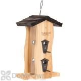 Natures Way Cedar Vertical Wave Bird Feeder 2 qt. (CWF5)
