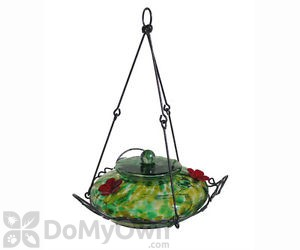 Natures Way Green Speck Garden Top Fill Bird Feeder 36 oz. (GHF2)