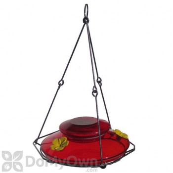 Natures Way Red Modern Top Fill Bird Feeder 24 oz. (MHF1)