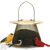 No / No Feeder Brass Bird Feeder with Roof Extension 2.5 lb. (B00302CS)