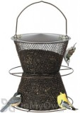 No / No Feeder Bronze Hourglass Bird Feeder 6 lb. (BZHG00325)