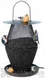 No / No Feeder Bronze Lantern Bird Feeder 11.5 in. (BZL00328)