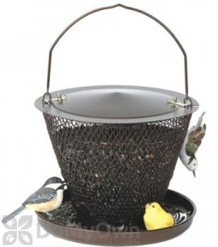 No / No Feeder Bronze Bird Feeder with Tray 2.5 lb. (BZUD00326)