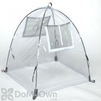NuVue Pop - UP Framed Greenhouse - Clear PVC