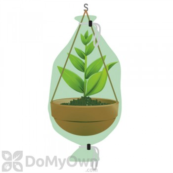 Nuvue Hanging Flower Basket Frost Cover 28\