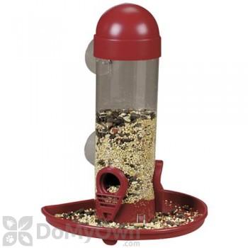 Opus Window Tube Bird Seed Feeder 8 in. (4626)