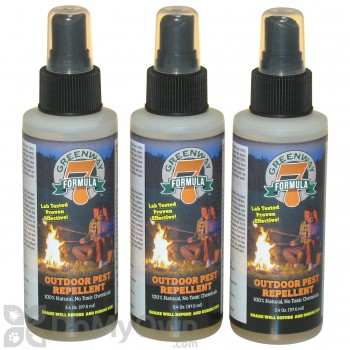 Greenway Formula 7 Personal Outdoor Bug and Mosquito Spray Repellent