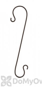Panacea Black Branch Hook For Bird Feeders 18 in. (83075)