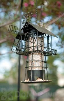 Panacea Black Windmill Bird Feeder (83180)