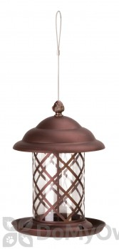 Panacea Copper Top Acorn Bird Feeder (83185)