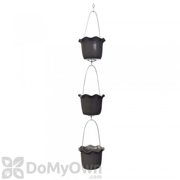 Pennington 3 Pot Ruffle Vertical Gardening Kit 7 in.