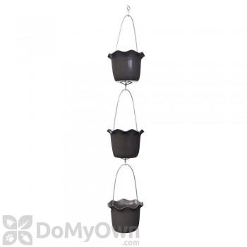 Pennington 3 Pot Ruffle Vertical Gardening Kit 7 in.
