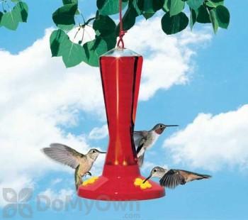 Perky Pet 3 Station Plastic Bird Feeder 8 oz. (211)