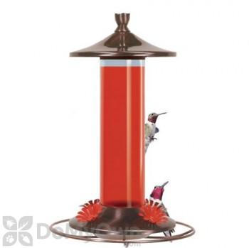 Perky Pet Brushed Metal Glass Hummingbird Feeder 12 oz. (PP710B)
