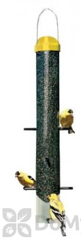 Perky Pet Yellow Dome Top Thistle Bird Feeder 18 in. (307)