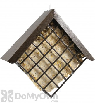 PineBush Diamond Copper Hammertone Suet Bird Feeder (07502)
