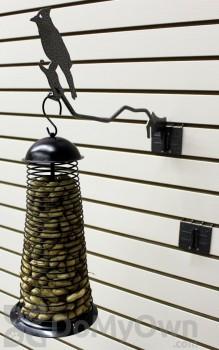 PineBush Single Metal Hanger with Screw on Bracket 1.6 lbs. (07697)