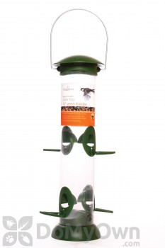 PineBush Click Top Seed Bird Feeder 12 in. (30414)