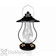 PineBush Coach Lantern Black Hummingbird Feeder 15 oz. (PINE88154)