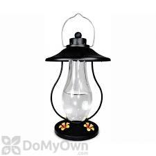 PineBush Coach Lantern Black Hummingbird Feeder 15 oz. (PINE88154)